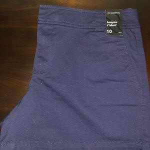 Hampton Shorts-Navy Blue